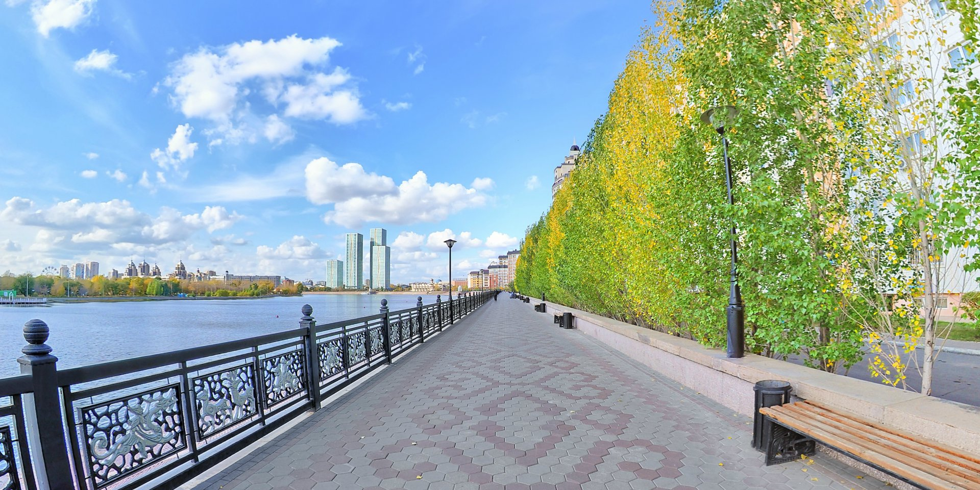 Астана впервые на Google Street View