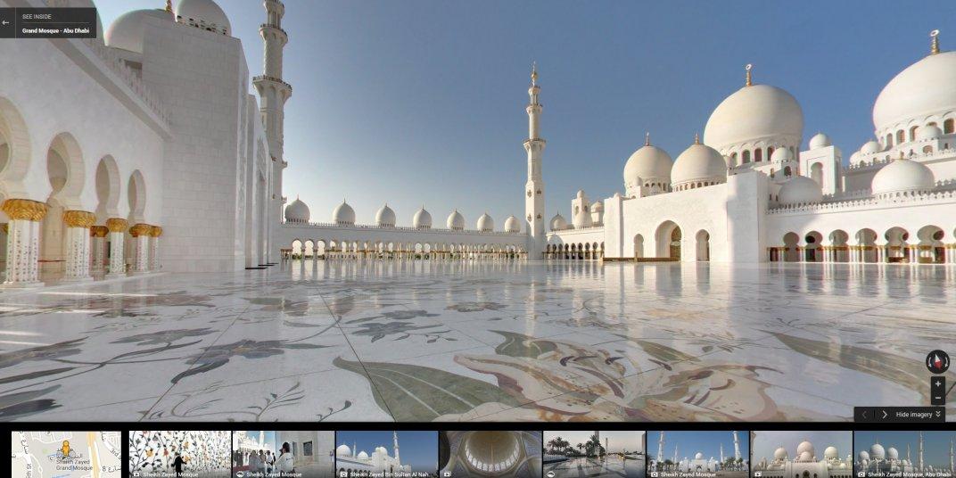 Большая мечеть шейха Зайда, Абу-Даби