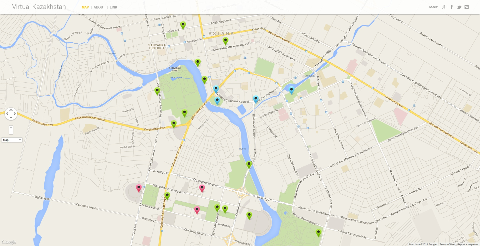 3D туры по Казахстану на Google Maps